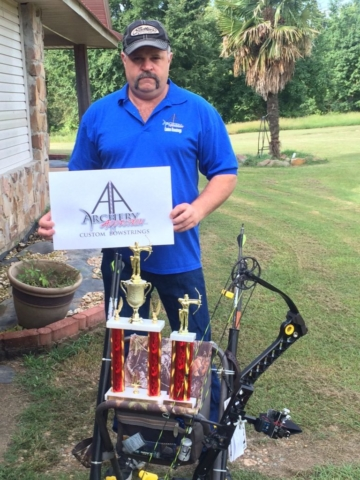 Congrats to Jerry Don Rogers - Hope Watermelon Festival Invitational - Winner of Men's Open and 2nd in Pro.