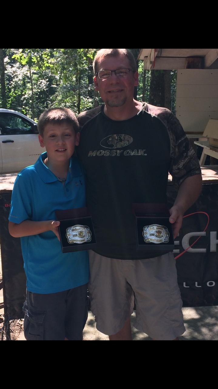 Gavin Hatley - 2016 ASA Eagle Class Shooter Of The Year and Michael Hatley - 2016 ASA Hunter Class Shooter Of The Year